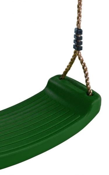 Plastový sedák na houpačku  - zelený