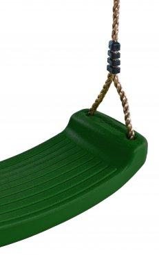 Plastový sedák na houpačku  - zelený - PSZ