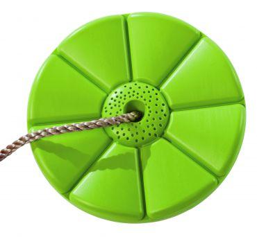 Plastový sedák  květina  ( kruhový ) - limetka - PSML