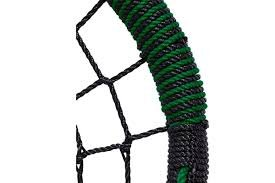 Houpačka hnízdo  - Ovál  černá / zelená