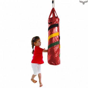 Boxovací pytel na zavěšení - červený - BP